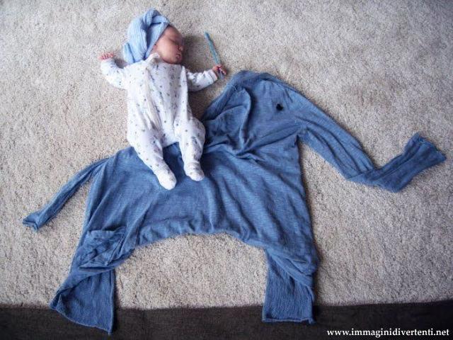 Immagine Divertente Bimbo: Bimbo addormentato