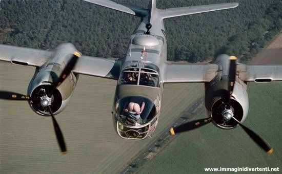 Immagine Divertente Aereo: Immagine divertente aereo