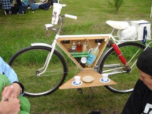 Immagini Divertenti:super Bicicletta: Bicicletta Super Accessoriata